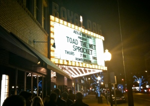 Outside The Show In Royal Oak, MI